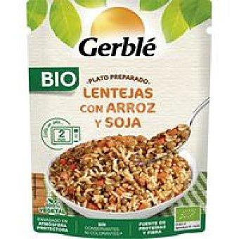 Gerblé Lentejas-arroz bio, doypack 250 g