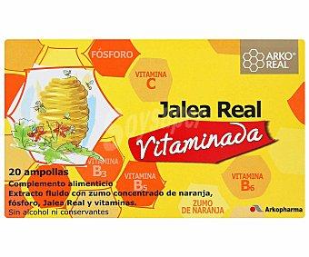Arkoreal Jalea Real vitaminada arkoreal 20 Ampollas de 15 ml