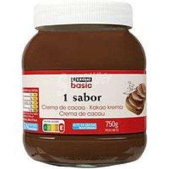 Eroski Crema de cacao 1 sabor Bote 750 g