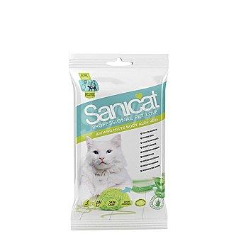 Carrefour Toallitas Manopla Higiénicas para Gato Sanicat Wipes 1 ud
