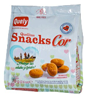 Quelitas Snacks cor 70 g