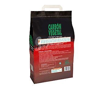 Auchan Carbón vegetal de calidad superior debido a su alto contenido en carbón fijo y pocas impurezas. Ideal para uso en barbacoas 1.4 kilos