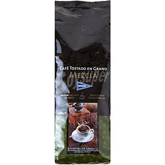 Hipercor Café en grano mezcla 80-20 Bolsa 1 kg
