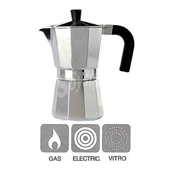 Cafetera aluminio mod vitro expre 6 tazas 1 ud