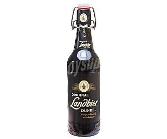 LANDBIER DUNKEL Cerveza alemana original Aktien Botella 50 cl