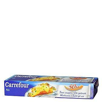 Carrefour Papel de aluminio 50 metros.