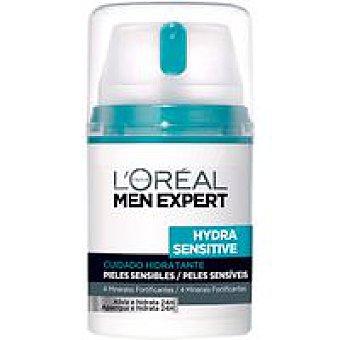 Men Expert L'Oréal Paris Cuidado hidratante Sensit. l¿oreal Dosificador 50 ml