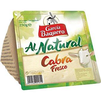 GARCIA BAQUERO Al Natural Queso de cabra fresco bajo en sal cuña 250 g 250 g