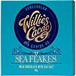 Chocolate con leche y escamas de sal Tableta 50 g WILLIE'S CACAO