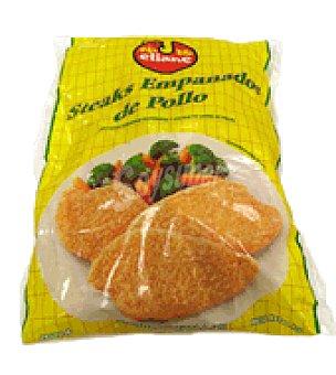 Embutidos Tenerife Pechuga de pollo empanada y congelada Bolsa de 1 kg