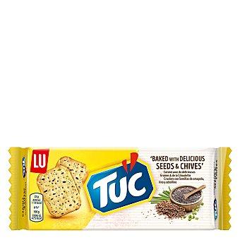 Tuc Crackers original con semillas amapola y lino Tuc 105 g