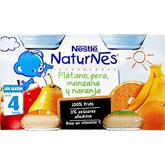 Naturnes Nestlé Tarrito Nestlé de Plátano Pera Manzana y Naranja 260 g