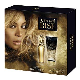 Beyoncé Estuche colonia spray Rise 50 ml. + body lotion 75 ml. 1 ud