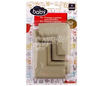 BABY Protege esquinas blandos, 4 unidades