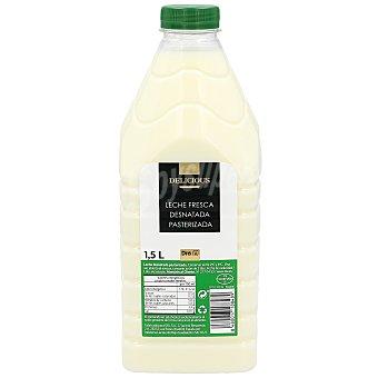 DIA Delicious Leche desnatada fresca Botella 1.5 l