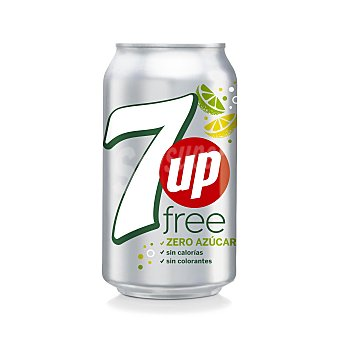 7Up Free Lata 33 cl