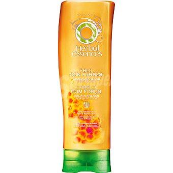 Herbal Essences Acondicionador fortificante pelo con fuerza con esencias de miel y Albaricoque para cabello dañado Frasco 250 ml