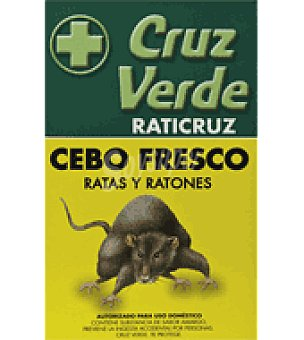 Raticruz Insecticida ratas y ratones 200 ml