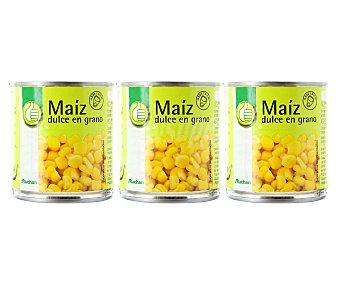 Productos Económicos Alcampo Maíz dulce 3 unidades de 140 gramos