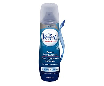 Veet Crema depilar spray hombre Bote 150 cc