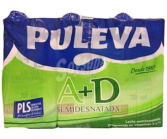 Puleva Leche Semidesnatada a + d 6x1L