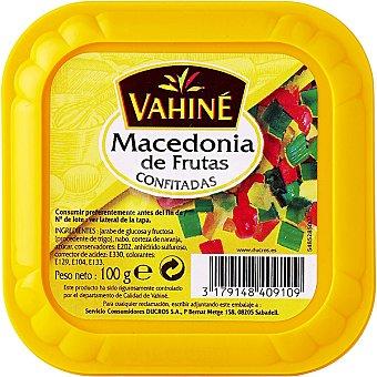 Vahine Macedonia de frutas confitadas Envase 100 g