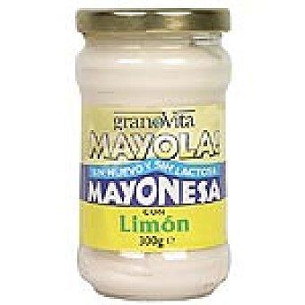 GRANOVITA Mayola Mayonesa al limón sin huevo ni lactosa Bote 300 g