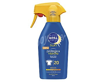 Nivea Spray solar hidratante con factor de protección 20 (media) 300 ml