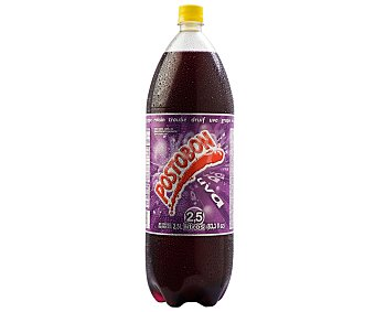 Postobon Bebida gaseosa sabor a uva Botella de 2 litros