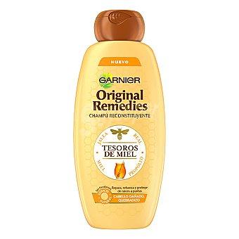Original Remedies Garnier Champú reconstituyente Tesoros de Miel para cabellos dañados 400 ml