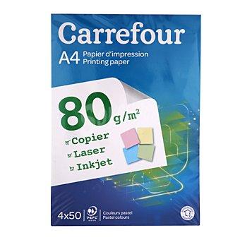 Carrefour Panache Pastel 80gr A4 1 ud