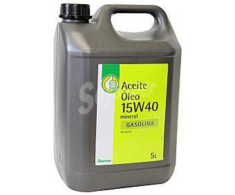 Productos Económicos Alcampo Aceite mineral para vehículos gasolina 5 Litros