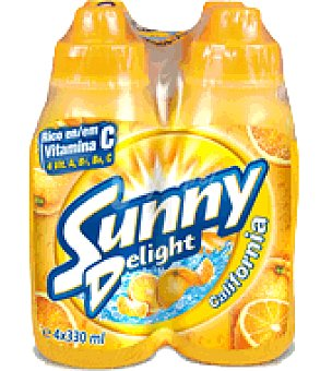 "Sunny Delight Refresco ""california"" Pack de 4 botellas de 330 ml"