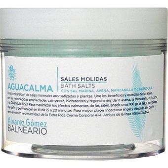 ALVAREZ GOMEZ BALNEARIO sal de baño Aguacalma sales molidas con sal marina Tarro 200 g