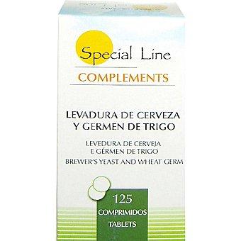 Special Line Levadura de cerveza y germen de trigo envase 125 comprimidos Envase 125 comprimidos