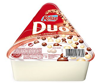 Kalise Yogur Dúo con boliltas de chocolate 175 Gramos