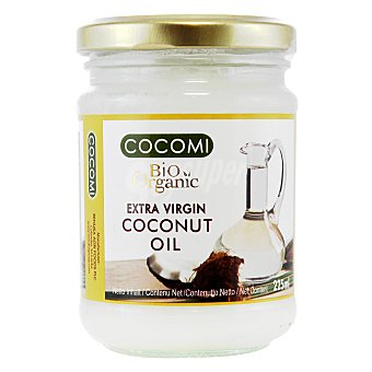 Qbio Aceite de coco virgen extra ecológico Cocomi Tarro 225 ml