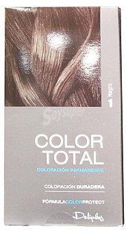 Deliplus Tinte coloracion permanente Nº 01 negro u