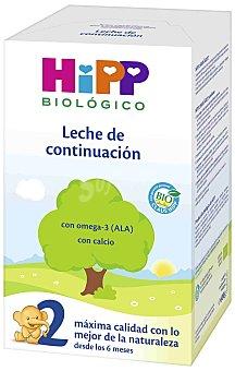 HiPP Biológico Leche de continuación 2 desde los 6 meses bio Envase 600 g