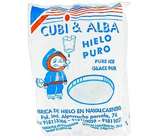CUBI&ALBA Hielo cubitos 2 kg