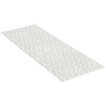 Tatay Alfombra baño en PVC en color blanco 97 x 36 cm
