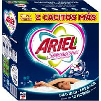 Ariel Detergente en polvo Maleta 29 cacitos