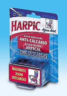 Harpic Bloque Cisterna Antical WC Maximatic 1 Unidad x 95 Gramos