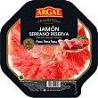 Plato de jamón lonchas finas Bandeja de 90 g Argal