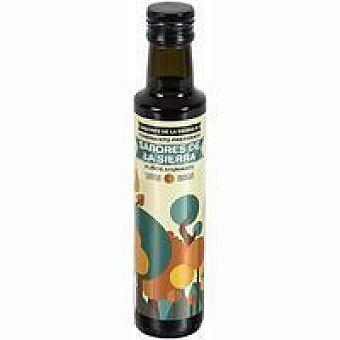 SABORES De La SIERRA Aceite de oliva ahumado Botella 25 cl