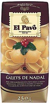 El Pavo Gallina Blanca Pasta Galet Nadal Paquete 250 g