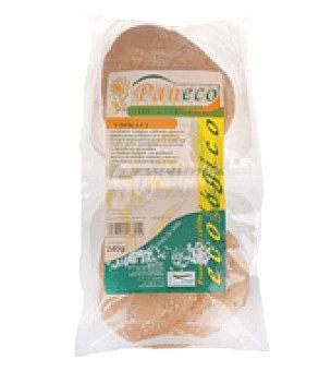 Paneco Pan hamburguesa ecológica 240 g