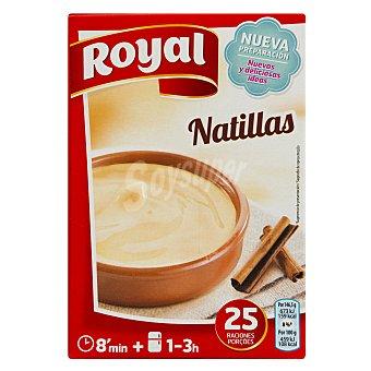 Royal Preparado para natillas caseras (25 raciones) Estuche 5 sobres x 20 g (100 g)