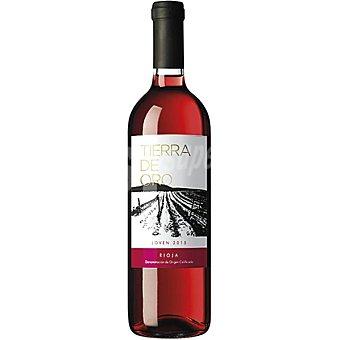 Tierra de oro Vino rosado D.O. Rioja elaborado para grupo El Corte Inglés Botella 75 cl