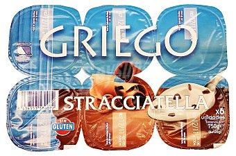 PRODUCTO RECOMENDADO Yogur griego stracciatella Pack 6 x 125 g - 750 g